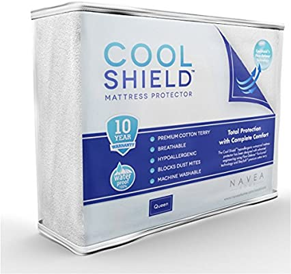 Amazoncom Cool Shield No Allergy Waterproof Mattress Protector