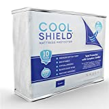 Cool Shield No Allergy Waterproof Mattress Protector - Breathable Terry ...