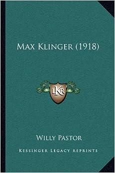 Book Max Klinger (1918) (German Edition)