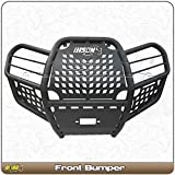 kawasaki brute force bumper - Kawasaki Brute Force 750i (2012-2017) ATV Front Bison Bumper Brush Guard Hunter Series