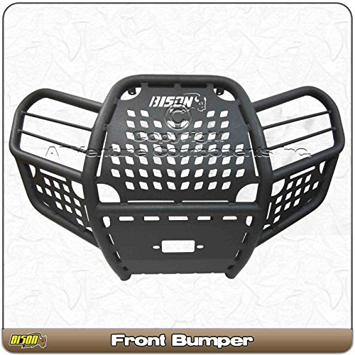 Bison Bumpers Kawasaki Brute Force 750i (2012-2019) ATV Front Brush Guard Hunter Series (Brute Force Accessories)