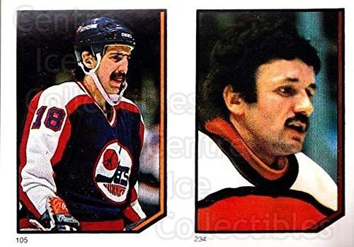 (CI) Bill Derlago, Glenn Resch Hockey Card 1986-87 O-Pee-Chee Stickers 105-234 Bill Derlago, Glenn Resch (1986 87 O Pee Chee Hockey Cards)