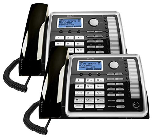 RCA 25260 na 1-Handset 2-Line Landline Telephone - 2 Pack by RCA (Image #2)