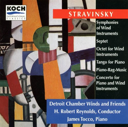 Stravinsky: Octet; Symphonies Of Wind Instruments; Tango For Piano; Piano-rag-music; Septet ()