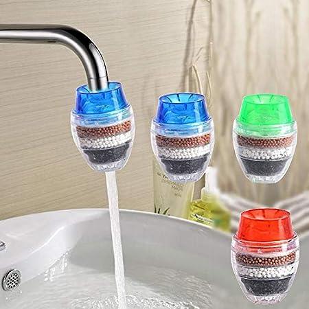 Hengbaixin - Cartucho de Filtro purificador de Agua para grifos de ...