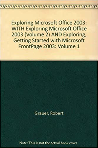 Free ebooks english exploring microsoft office 2003 with exploring exploring microsoft office 2003 with exploring microsoft office 2003 volume 2 fandeluxe Images