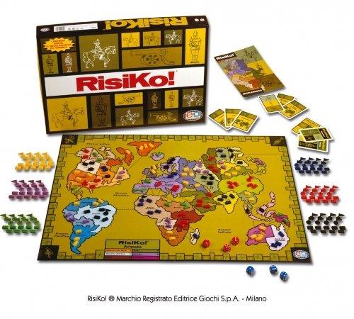 Prezzo scontato Editrice Giochi Risiko Gioco da Tavolo con 6 Eserciti