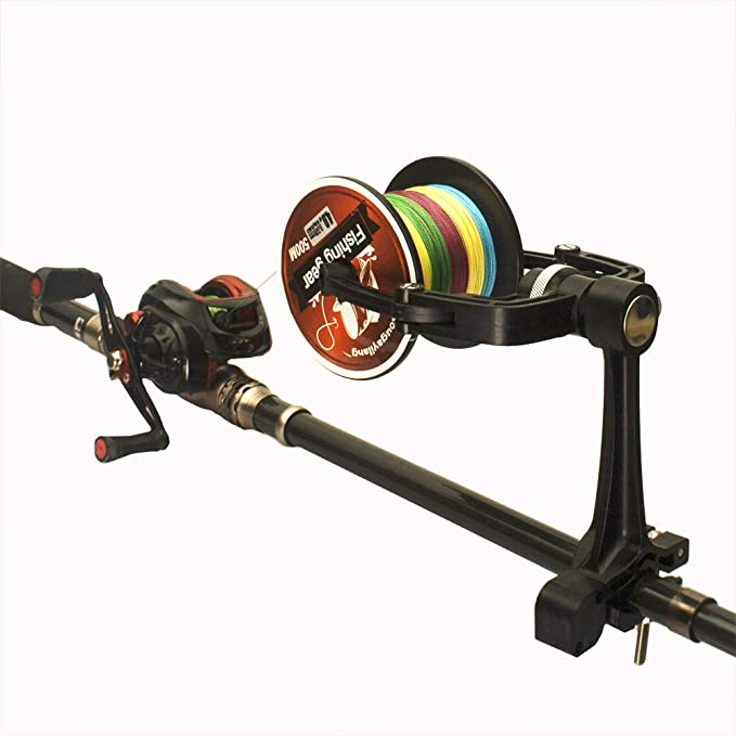 Fishing Reel Spooler-Fishing Tackle Spooler System-Fisherman Must Have(with Suction Cup) ANGRYFISH Fishing Line Winder-Practical Fishing Tools-Spooler Machine