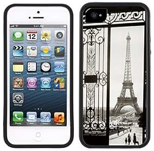 Paris Eiffel Tower Handmade iPhone 5C Black Case