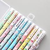 #4: 10 Pcs Unicorn Flamingo Gel Pens Set,Fine Point (0.5mm), 10 Ink Color,Best Unicorn Gifts For Girls