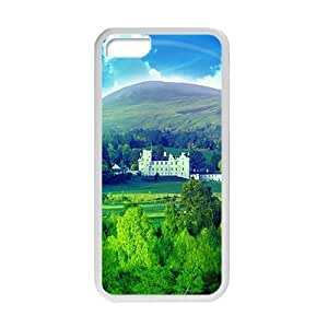 meilinF000fresh forest blue sky beauty scenery personalized creative custom protective phone case for ipod touch 5meilinF000