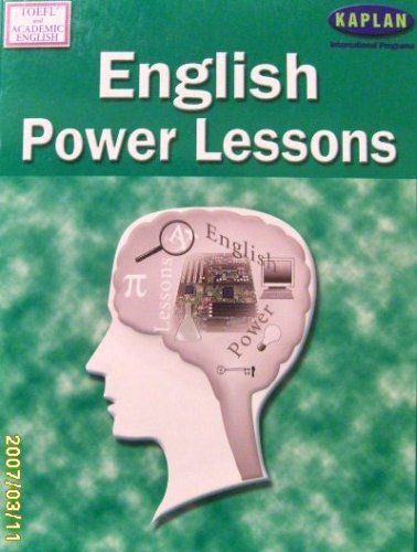 ENGLISH POWER LESSONS, TOEFL AND ACADEMIC ENGLISH.