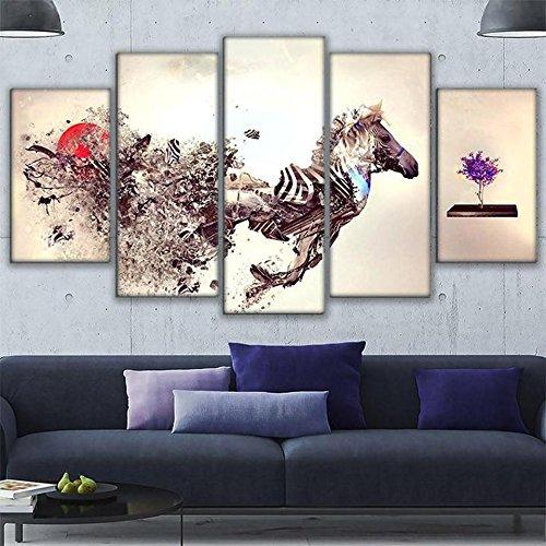 zebra picture frame 8x10 - 7