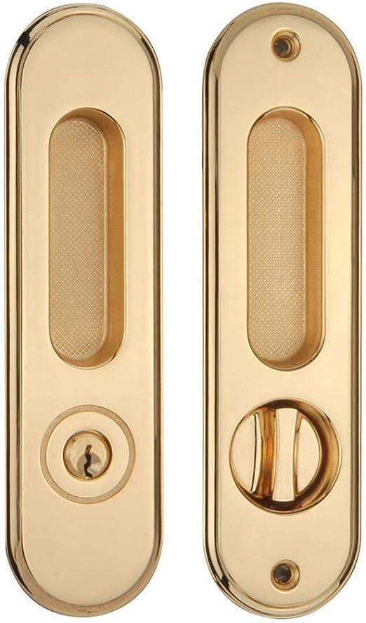 PZXY Manija de Puerta Cocina baño balcón Puerta corredera cinc aleación Cerradura manija 168 * 45 * 145 mm: Amazon.es: Hogar