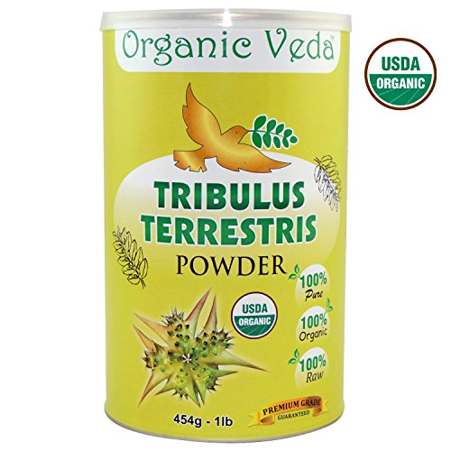 Tribulus Terrestris Powder. 100% Pure and Natural Herbs Raw Organic Super Food Supplement. Non GMO. Gluten FREE. ★ USDA Certified Organic ★ ALL NATURAL! (16 Oz) Review