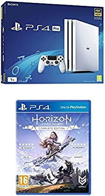 Sony PlayStation 4 Pro Console - White - 1TB + Horizon Zero Dawn ...