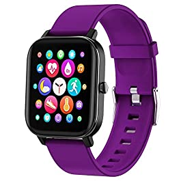Smart Watch, FirYawee Smartwatch for Android Phones and iOS Phones Compatible iPhone Samsung,Fitness Tracker IP68…