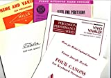 img - for Four Canons/Vivo Vivaldi/Celesta/Suite For Percussion/Theme and Variations book / textbook / text book