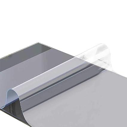 Mantel de PVC transparente para mesa de café con almohadilla de ...