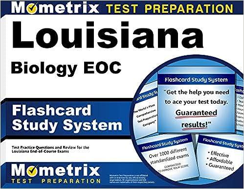 Louisiana Biology Eoc Flashcard Study System Louisiana Eoc Test Practice Questions Exam Review For The Louisiana End Of Course Exams Cards Louisiana Eoc Exam Secrets Test Prep Team 9781630941116 Amazon Com Books
