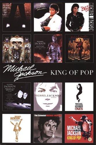 Michael Jackson - Album Covers Poster Print