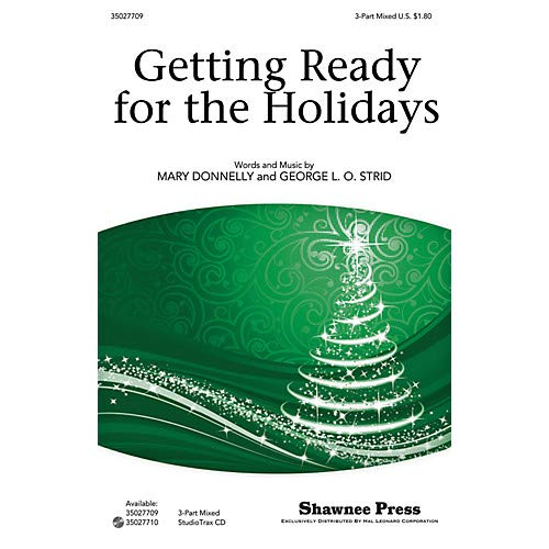 Getting Ready for the Holidays! 3-Part Mixed composed by Mary Donnelly, Pack of 3