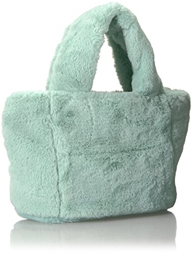 Fur Shirt Satchel Satchel Fur Plush amp; Jeans Mini T Plush Faux Faux Mint Mini Women's HxvfqBOd