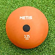 METIS Indoor/Outdoor Rubber Shot Put [5 Weights Available]   Shotput for Track and Field Training   Track &