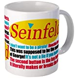 CafePress – Seinfeld Quotes Logo – Unique Coffee Mug, Coffee Cup