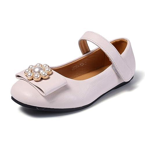 0c036987b Fanessy Sandales Fille Chaussure à Talon Ballerine Chaussure de ...