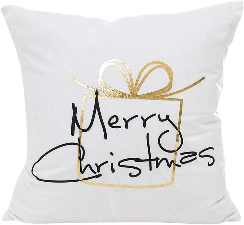 Car Home Hand Shadow Animal Series Flax Pillow Case Cushion Cover Decor W