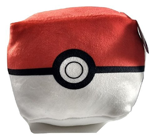 Pokemon Pokeball Mini Travel Pillow by Cubd Collectibles