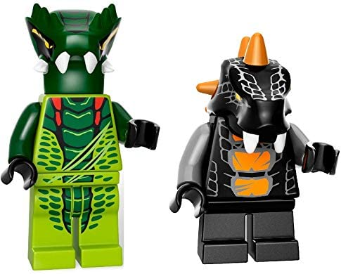 "LEGO Minifigure /""Lizaru/"" Serpentina NINJAGO NUOVO ORIGINALE"