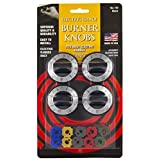 STANCO STE70011002, Electric Range Surface Burner Knobs, 4-Pack
