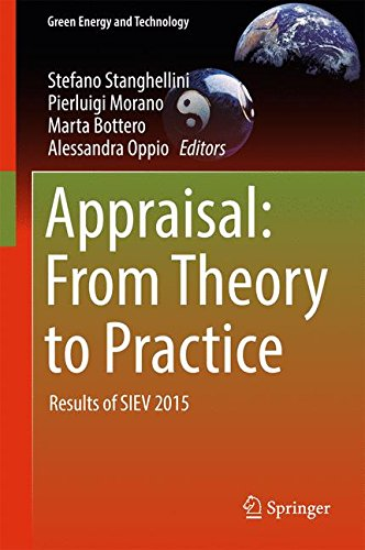 Appraisal: From Theory to Practice: Results of SIEV 2015 (Green Energy and Technology)