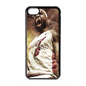 iphone 5c Cell Phone Case Black LeBron James_012 Gift P0J0Z3-2397467