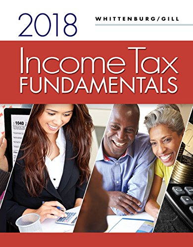 Income Tax Fundamentals 2018  Includes Intuit Proconnect Tax Online 2017