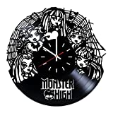 Everyday Arts Monster High American Fashion Doll Mattel Design Vinyl Record Wall Clock - Get Unique Bedroom or Garage Wall Decor - Gift Ideas for Friends, Brother - Darth Vader Unique Modern Art