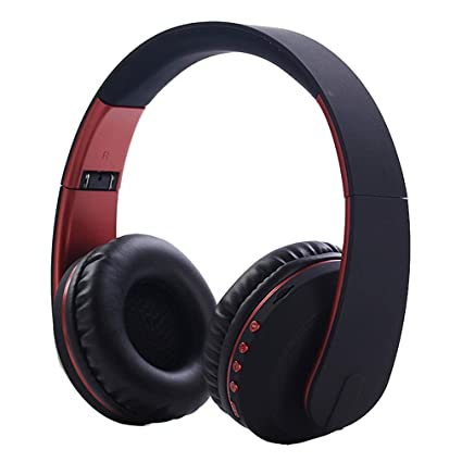 Yying Auriculares inalámbricos Bluetooth, Auriculares Plegables, Auriculares Deportivos, Inalámbrico, Tarjeta enchufable,