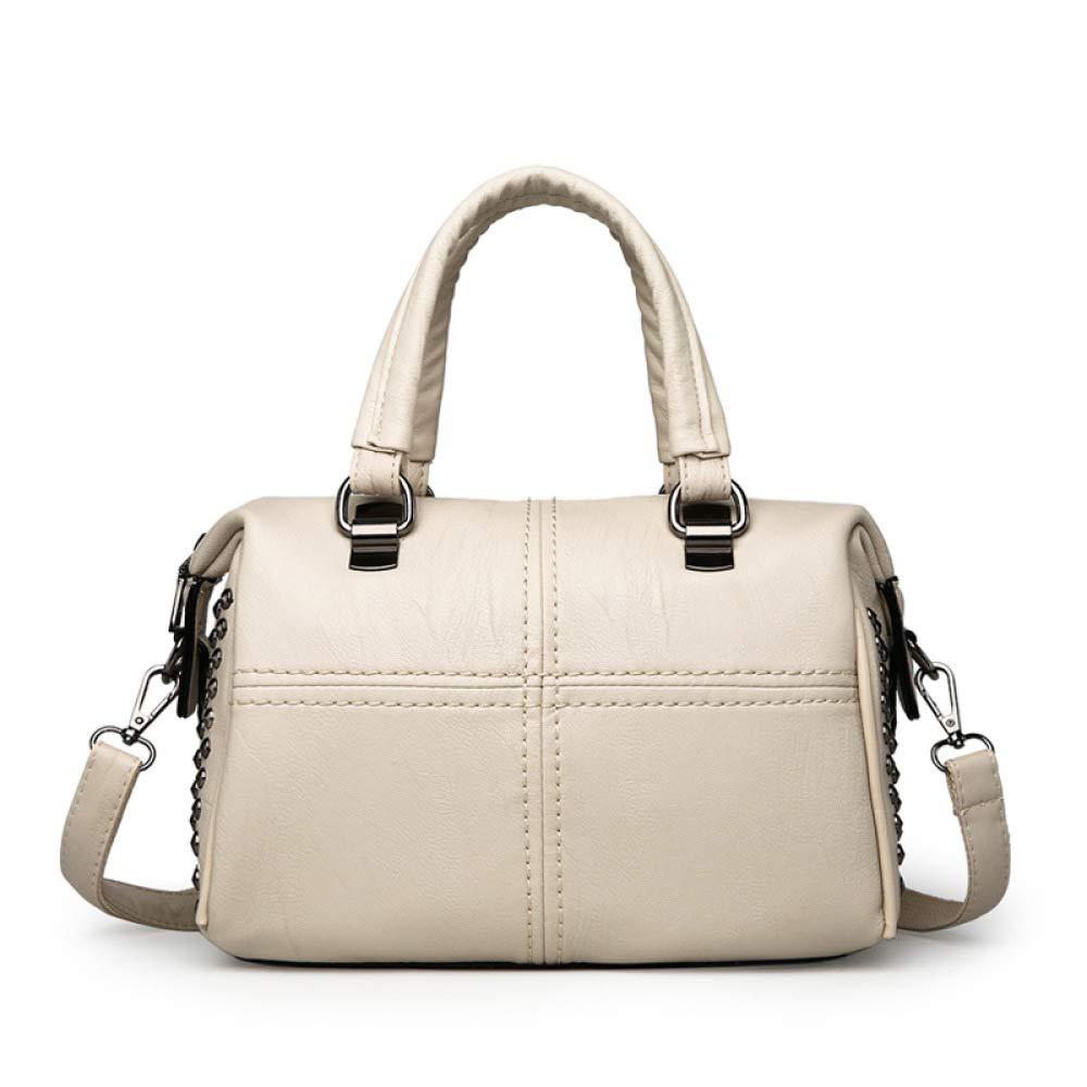 damen Handtaschen,Soft Leder Handtaschen Grosser Kapazität Retro Vintage Top-Griff Lässige Shopper Taschen B07NTV37P2 Henkeltaschen Einzelhandelspreis
