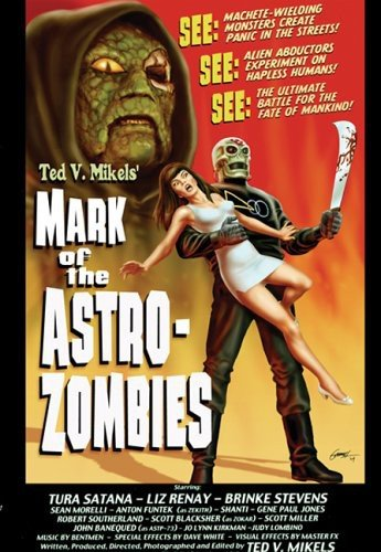DVD : Liz Renay - Mark Of The Astro Zombies (DVD)