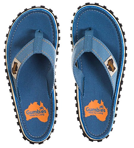 UK da Spiaggia Light Gumbies Calzature Infradito 12 EU 36 Islanders Sandali Adulto Blue Numero wSX1XYqP