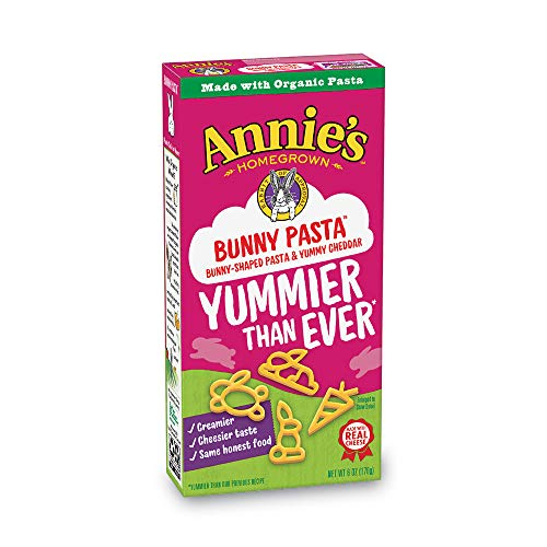 Price comparison product image Annie's Bunny Shape Pasta & Yummy Cheese Macaroni & Cheese,  12 Boxes,  6oz (Pack of 12)