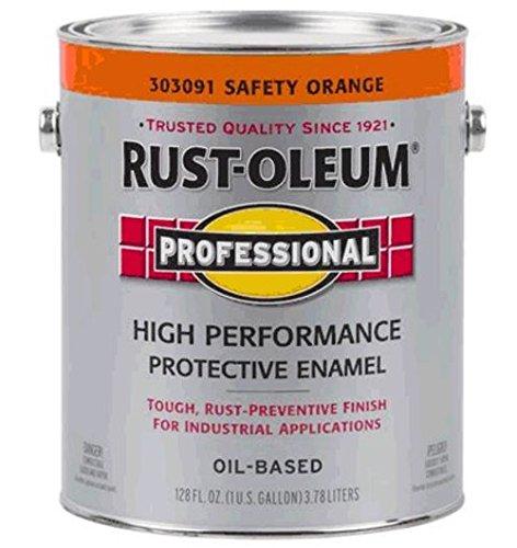 Rust-oleum 303091 Professional High Performance Protective Enamel, Safety Orange
