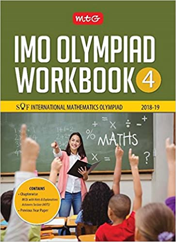 International Mathematics Olympiad Work Book (IMO) - Class 4 for 2018-19 - by Mahabir Singh