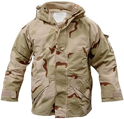 GI 3 Color Desert Goretex ECWCS Parka Jacket ECWCS