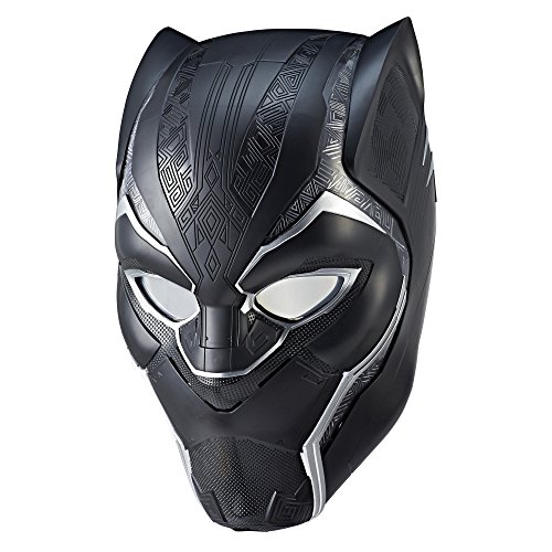 Marvel Legends Series Black Panther Electronic Helmet]()