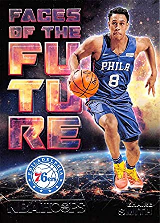 0ce397cb23f7 2018-19 NBA Hoops Faces of the Future  16 Zhaire Smith Philadelphia 76ers  Official