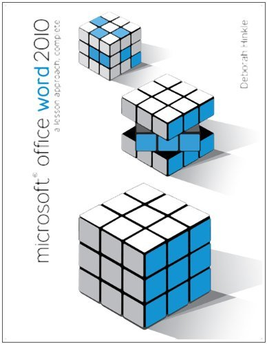 Microsoft Office Word 2010:  A Lesson Approach, Complete Pdf