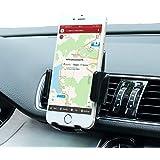Car Mount,SGRICE® 360° Rotation Universal Smartphone Car Air Vent Mount Holder Cradle iPhone 6 6+ 6S 6S Plus 5S 5,Samsung Galaxy S5 S4/3 Note 2/3,Nexus,Nokia,LG G3,HTC,Black
